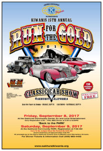 """Run for the Gold"" Car Show Dinner @ Run for the Gold Car Show 